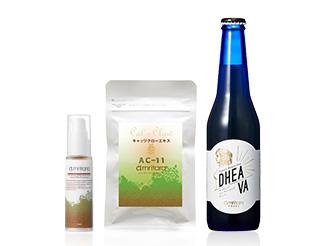 内外から美をサポートするサプリ&美容液、ビールを超えた「ディーバ」も