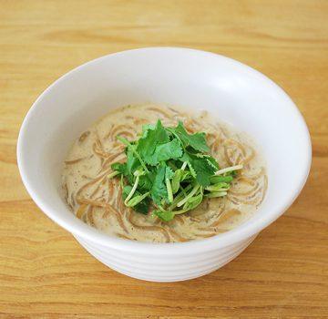 豆乳カレー温麺