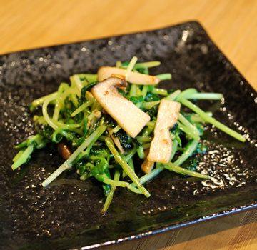 青菜のマヨネーズ炒め