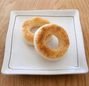 米粉と山芋のドーナツ